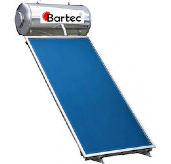 Bartec 100lt/1.5m² Glass Τριπλής Ενέργειας
