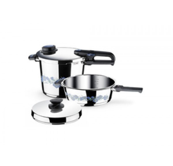 Fissler Set Quattro Blue Dream 8lt
