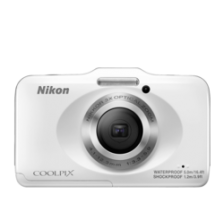 Nikon Coolpix S31 White waterproof & Blue